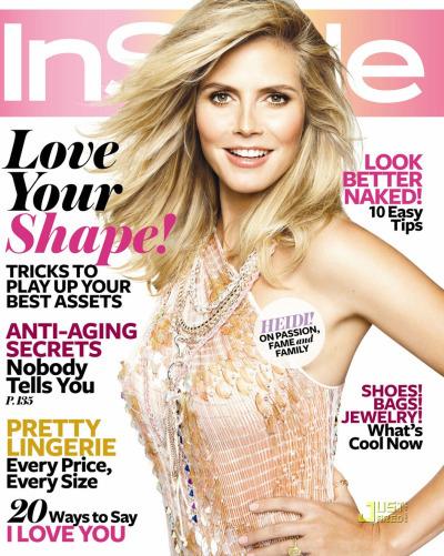 Видео: Хайди Клум в журнале InStyle. Февраль 2010