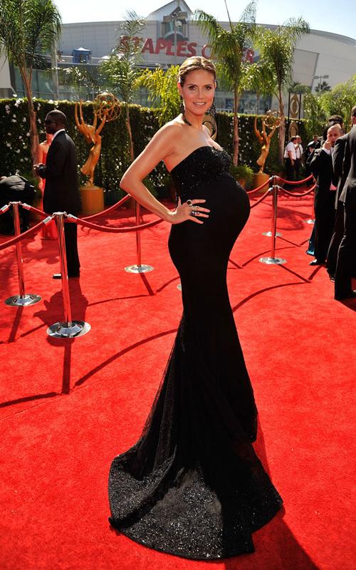 Хайди Клум о своем платье на Эмми