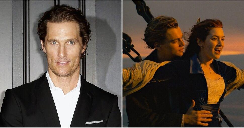 Джеймс Кэмерон рассказал, почему не дал Мэттью МакКонахи главную роль в «Титанике»