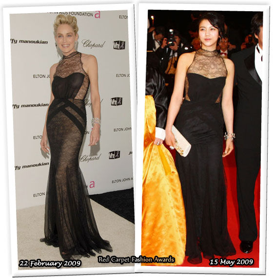 Fashion battle: Шэрон Стоун и Ким Ок-Вин