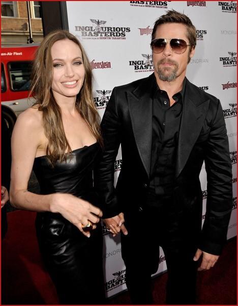 Анджелина Джоли и Брэд Питт купили себе замок
