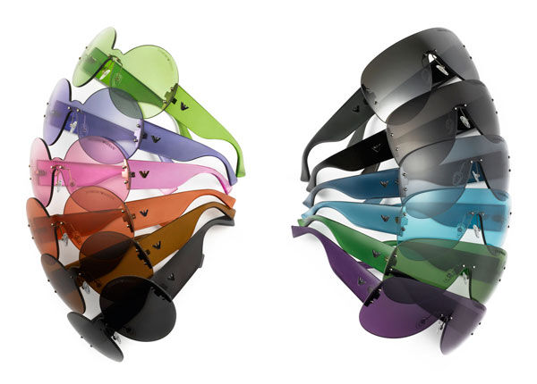 Коллекция солнечных очков от Emporio Armani «30 Colorful Years»