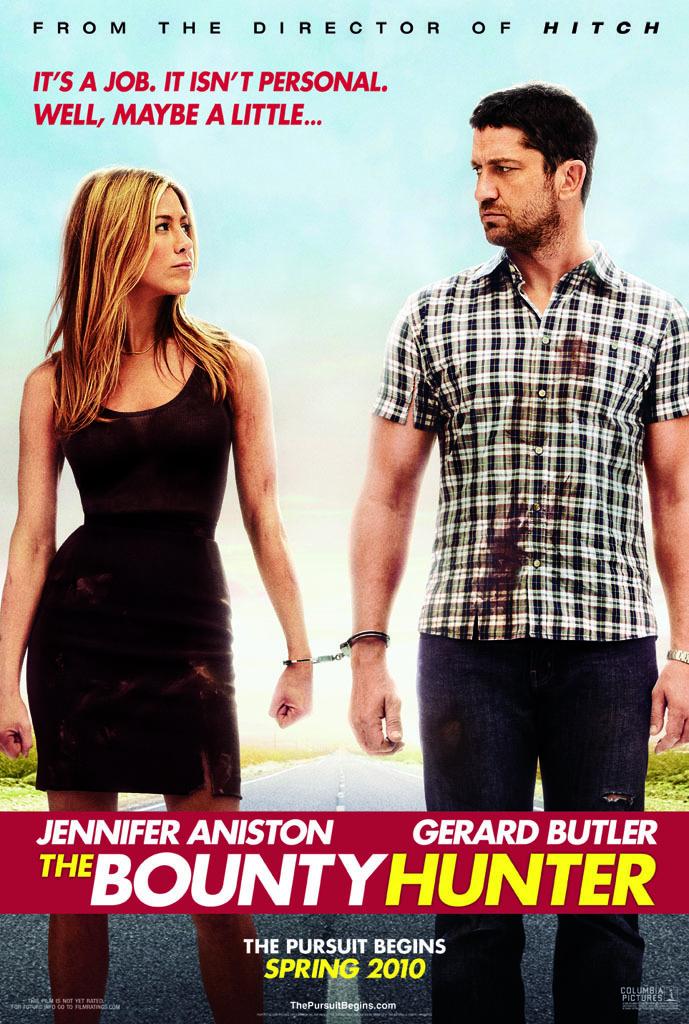 Официльаный тизер-постер фильма с Дженнифер Энистон и Джерардом Батлером