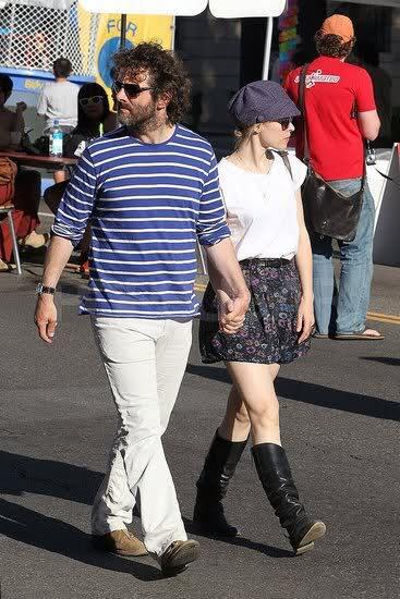 Рэйчел МакАдамс и Майкл Шин в Лос-Фелисе