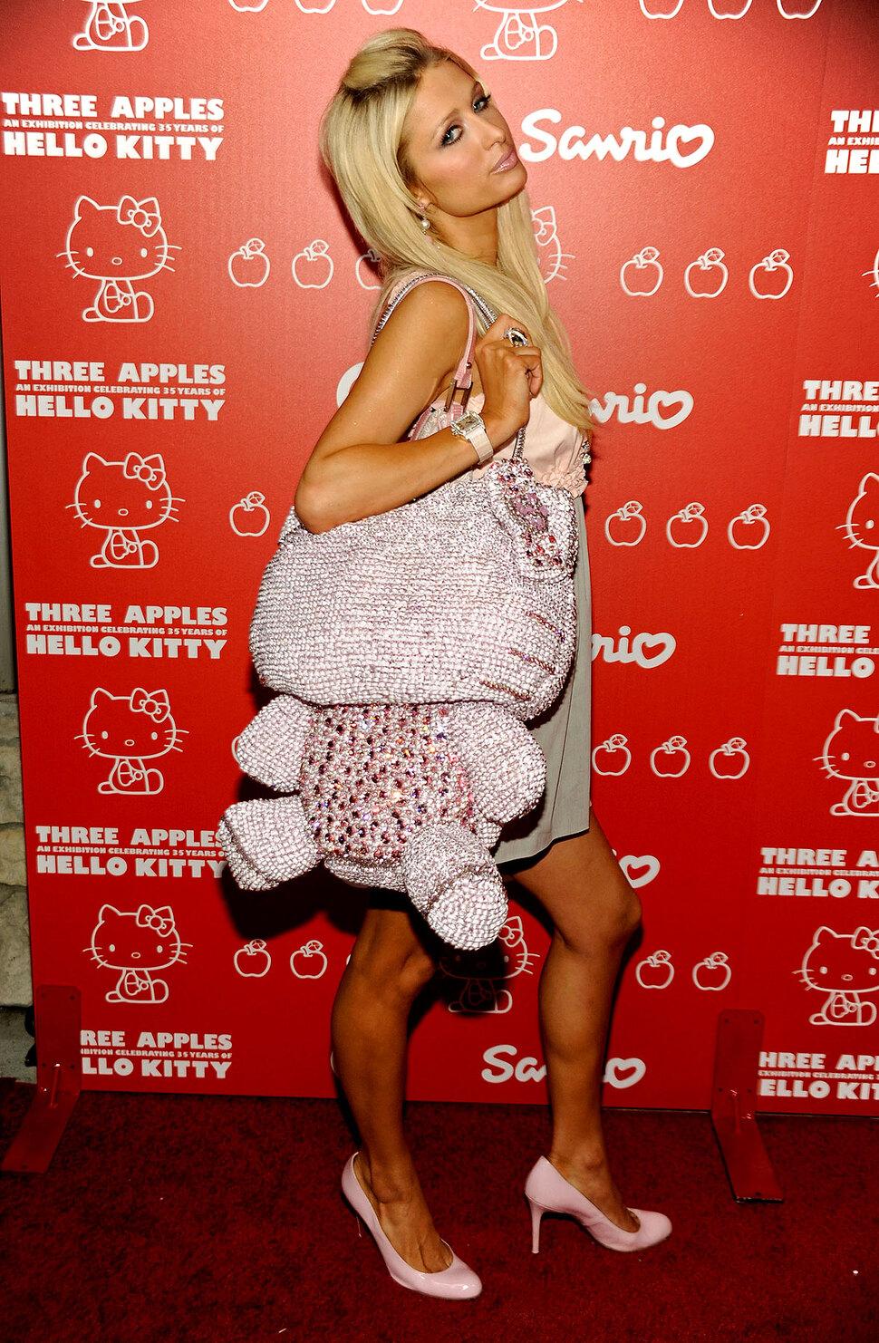 Пэрис Хилтон на Дне Рождении Hello Kitty
