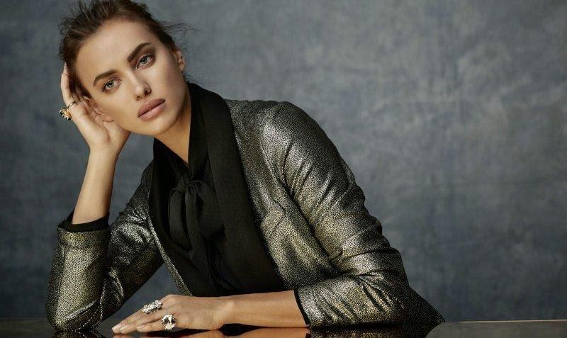 Ирина Шейк в рекламной кампании SuiteBlanco Night 2014