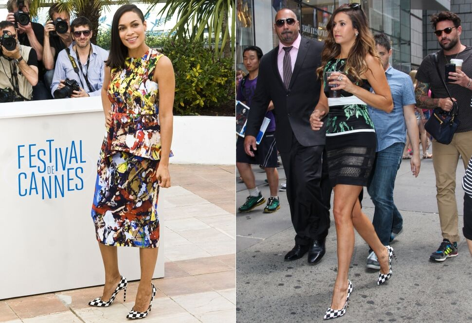 Fashion battle: Розарио Доусон и Нина Добрев