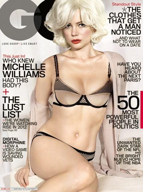 Мишель Уильямс в журнале GQ. Февраль 2012