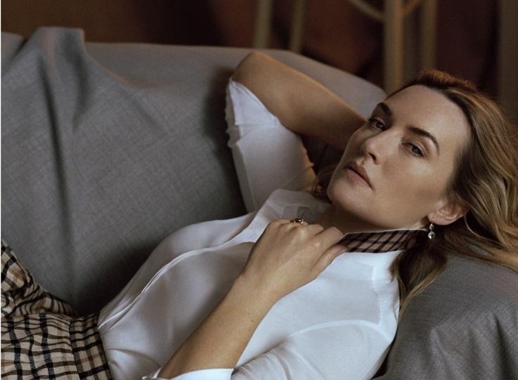 Британская элегантность: Кейт Уинслет в рекламной кампании Daks осень-зима 2019