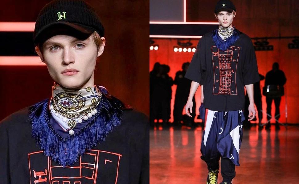 Сын Нормана Ридуса и Хелены Кристенсен прошел по модному подиуму на показе Tommy Hilfiger