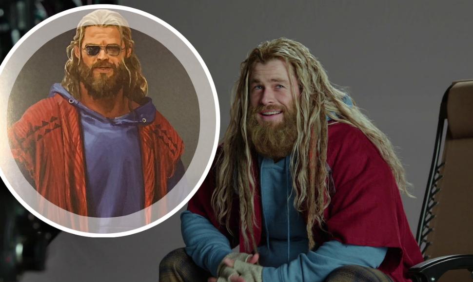 Концепт-арт: как мог выглядеть толстый и одноглазый Тор в «Мстителях: Финал»