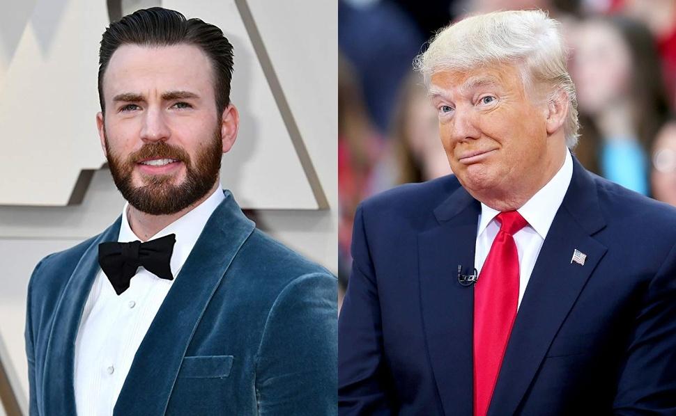 Звезда «Мстителей» Крис Эванс обрушился с критикой на Дональда Трампа