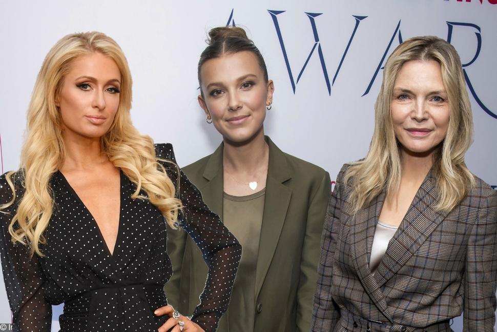 Милли Бобби Браун, Пэрис Хилтон и Мишель Пффайфер на WWD Beauty Inc Awards
