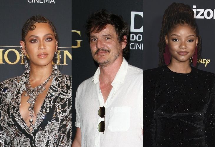 Бейонсе с дочкой, Педро Паскаль, новая Ариэль и много других звезд на премьере «Короля льва»
