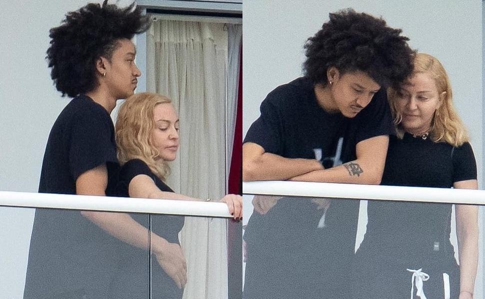 Фото: 61-летнюю Мадонну застали в объятьях 26-летнего танцора