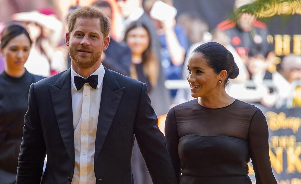 Фото: Меган Маркл и принц Гарри посетили премьеру «Короля льва» в Лондоне