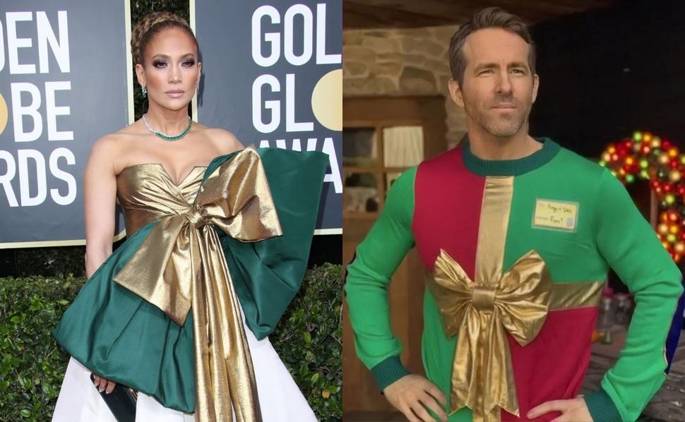 Новый мем: платье Дженнифер Лопес признали худшим на «Золотом глобусе» 2020