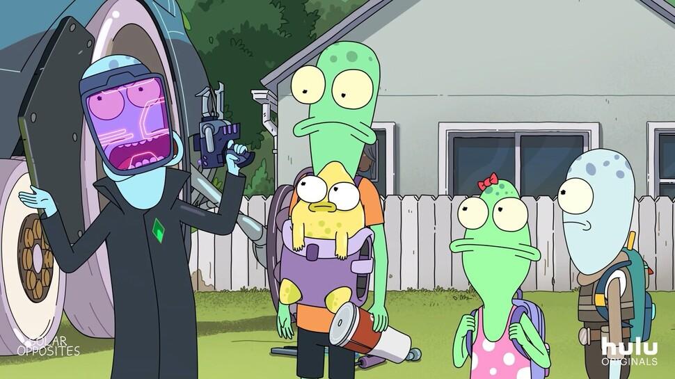 В духе «Рика и Морти»: вышел тизер мультсериала «Солнечные противоположности»