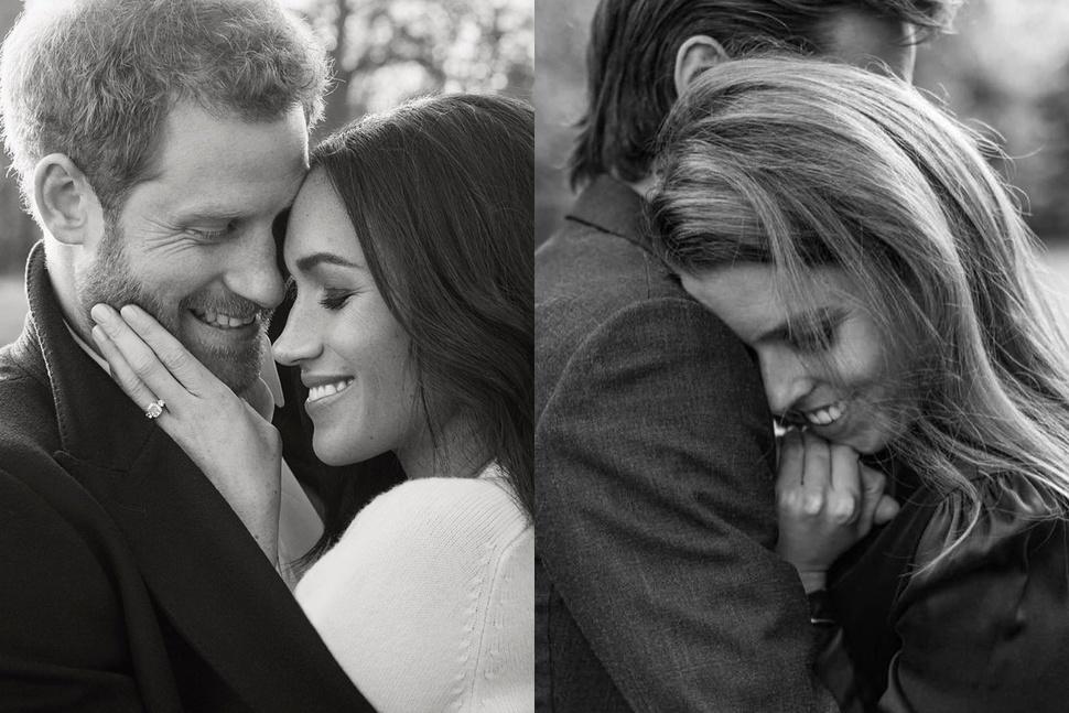 Жалкая копия: фанаты Меган Маркл раскритиковали принцессу Беатрис за помолвочную фотосессию