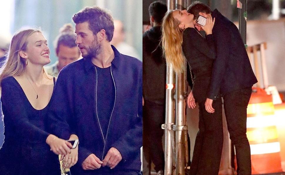 Нашел свое счастье: Лиама Хемсворта застали за поцелуями с Мэдисон Браун