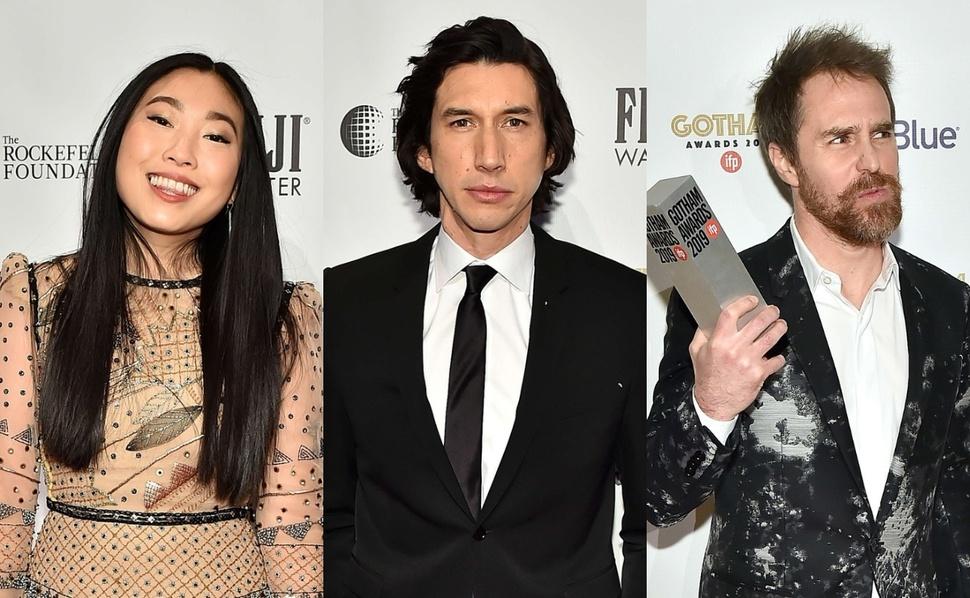 Сэм Рокуэлл, Аквафина, Адам Драйвер и другие победители Gotham Independent Film Awards 2019