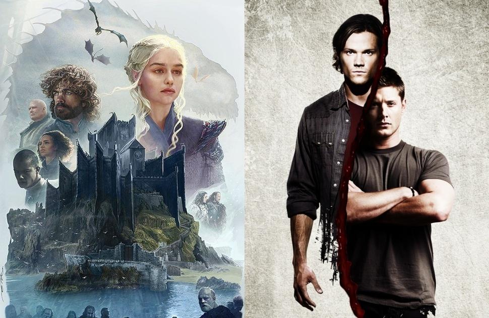 От «Игры престолов» до «Сверхъестественного»: названы самые популярные сериалы у россиян