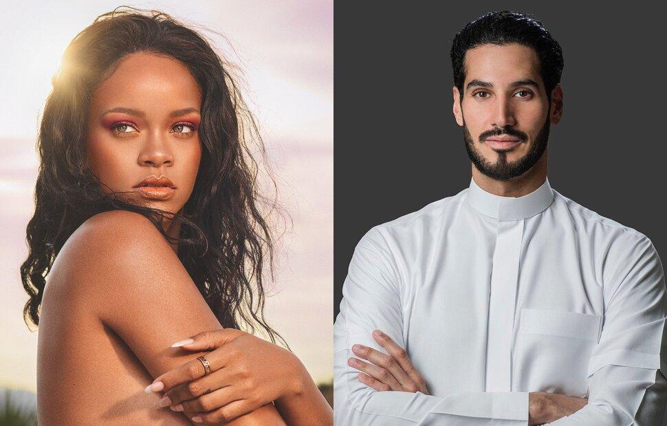 Рианна рассталась с арабским миллиардером и провела время с рэпером A$AP Rocky