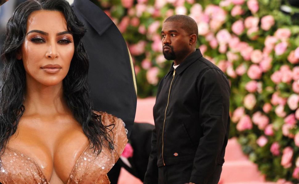 Ким Кардашьян и Канье Уэст повздорили из-за ее «слишком сексуального» платья на Met Gala