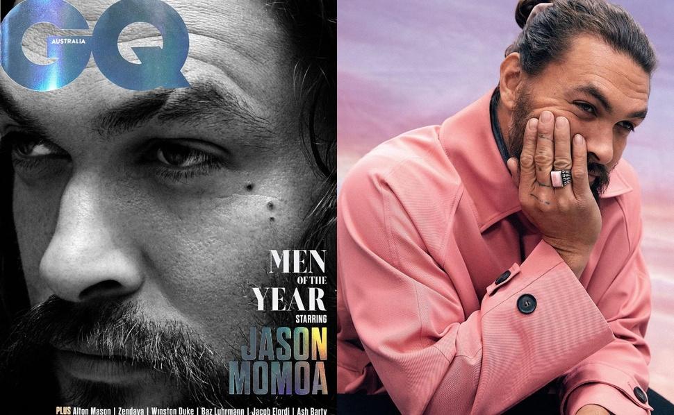 Джейсон Момоа стал мужчиной года по версии GQ: «Мне удалось победить Хемсвортов»