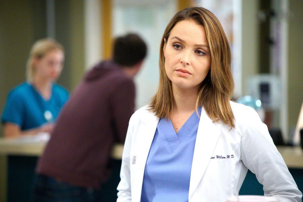 Звезда «Анатомии страсти» Камилла Ладдингтон во второй раз стала мамой