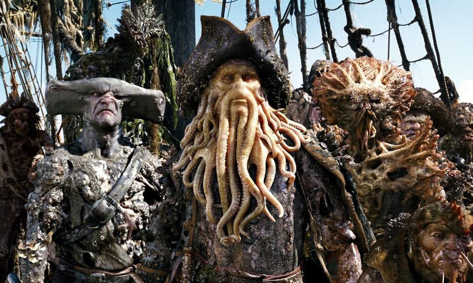 В новых «Пиратах Карибского моря» может вернуться Дейви Джонс