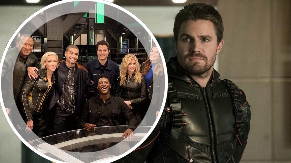 Закончились съемки 8 сезона «Стрелы»: актеры и съемочная группа трогательно попрощались с сериалом