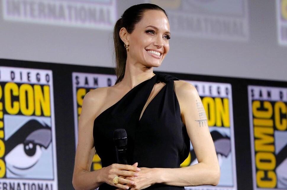 Анджелина Джоли рассказала, как дети отреагировали на ее роль в киновселенной Marvel