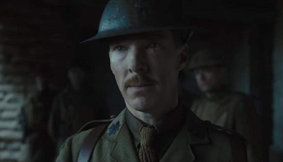 Колин Ферт, Бенедикт Камбербэтч и Ричард Мэдден в трейлере «1917»