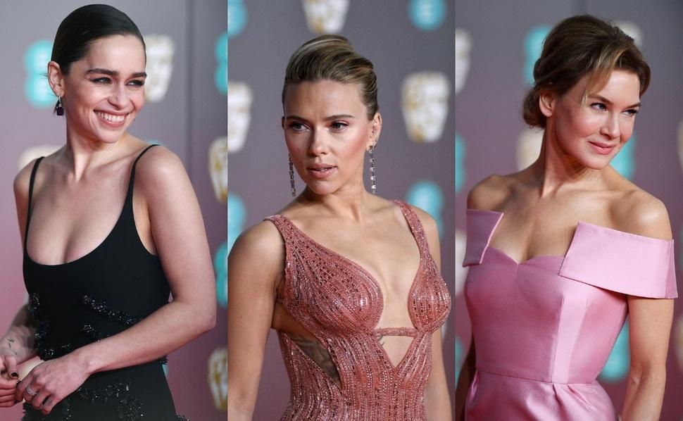 Красная дорожка премии BAFTA 2020: Эмилия Кларк, Рене Зеллвегер, Скарлетт Йоханссон и другие