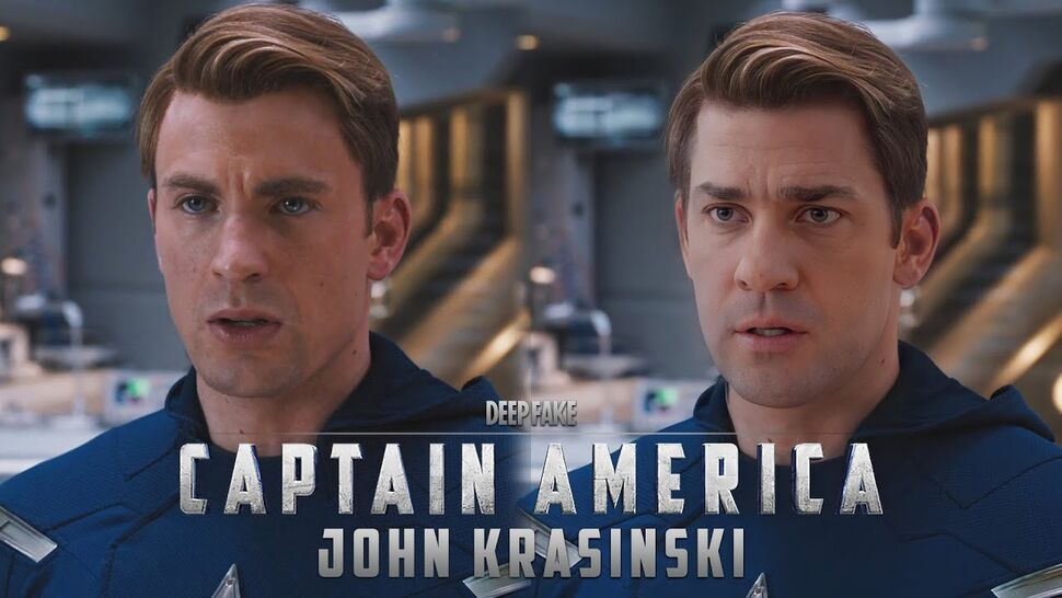Вслед за Эмили Блант: звезда «Тихого места» Джон Красински стал Капитаном Америкой