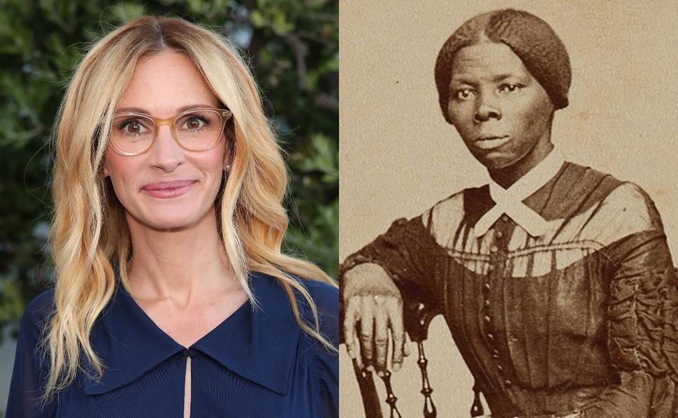 Безумная история: Джулию Робертс хотели взять на роль темнокожей рабыни в «Гарриет»