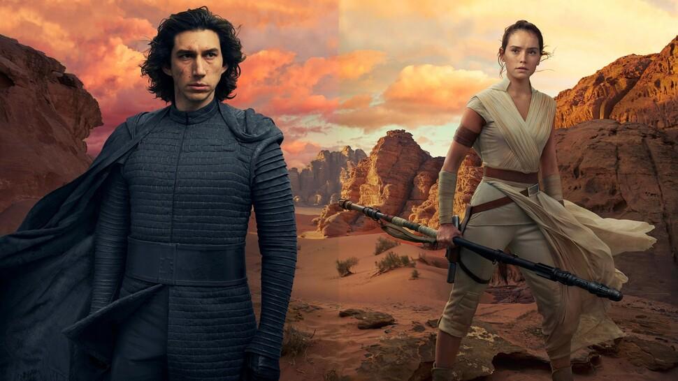 Создатели «Звездных войн: Скайуокер. Восход» рассказали о поцелуе Кайло Рена и Рей
