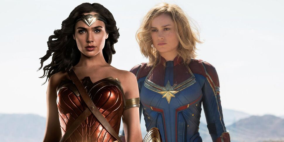 Звезда «Капитана Марвел» Бри Ларсон прокомментировала трейлер «Чудо-женщины 1984»