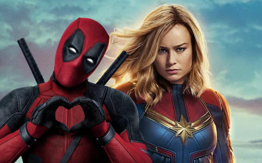 На радость хейтерам: Дэдпул поиздевается над Капитаном Марвел в Marvel