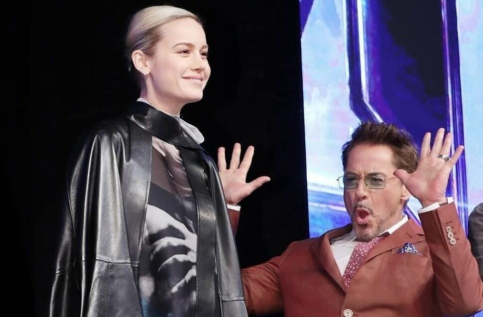 Слух: Бри Ларсон хочет заменить Роберта Дауни-младшего в Marvel