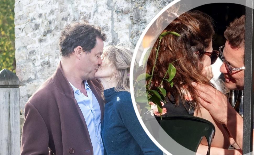 Доминик Уэст опроверг развод с женой после «измены» с Лили Джеймс: фото