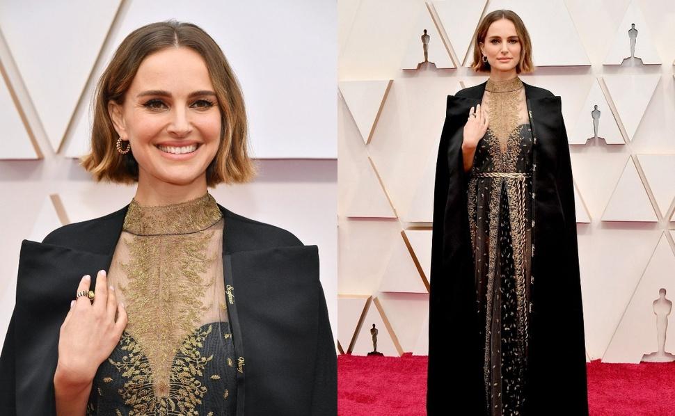 Натали Портман осудила Академию и поддержала женщин-режиссеров нарядом с тайным посланием