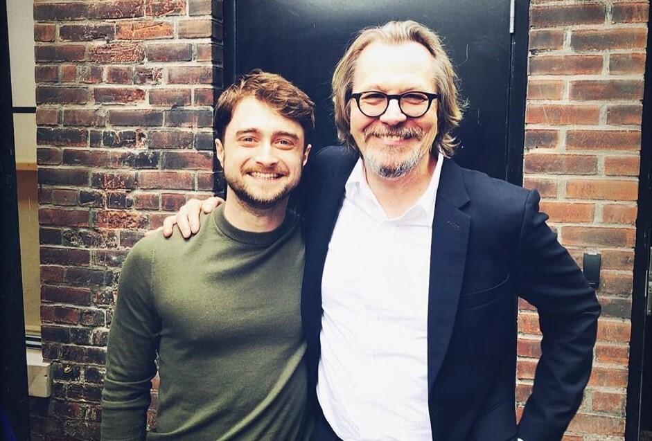12 лет спустя: «Гарри Поттер» Дэниел Рэдклифф и «Сириус Блэк» Гэри Олдман встретились на TIFF 2019