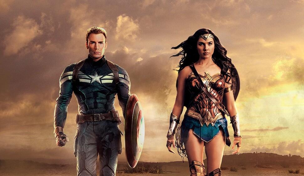 Видео: Чудо-женщина приходит на помощь к возлюбленному Капитану Америке в «Мстителях: Финал»