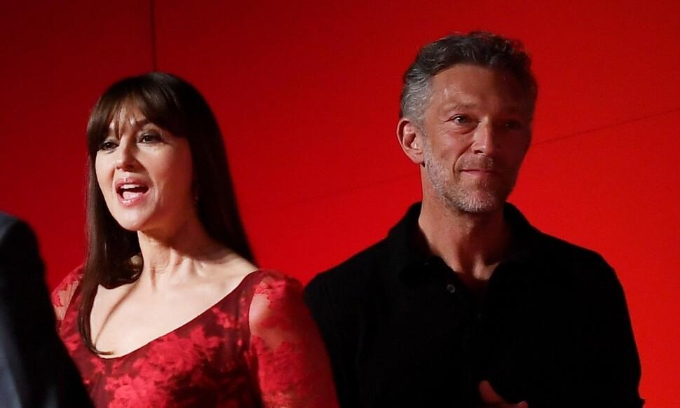 Моника Беллуччи и Венсан Кассель воссоединились на показе «Необратимости» в Венеции