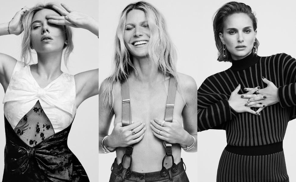 Женщины в Голливуде: Гвинет Пэлтроу, Скарлетт Йоханссон, Зендая и другие на обложках Elle 2019