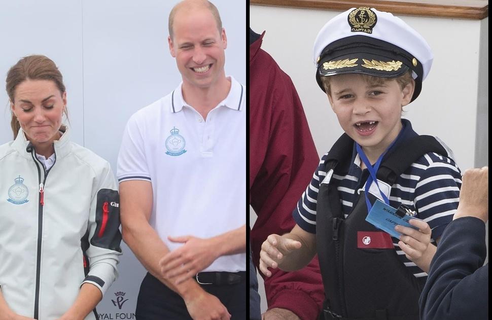 Кейт Миддлтон проиграла принцу Уильяму в парусной гонке: фото и видео