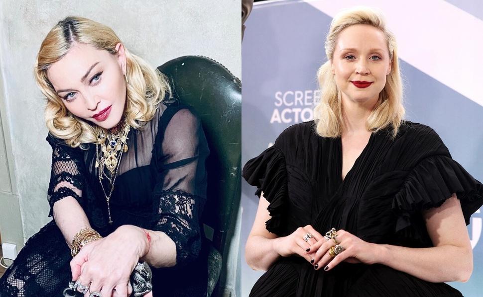 Мадонна отпустила странную шутку про «Игру престолов» в разговоре с Гвендолин Кристи