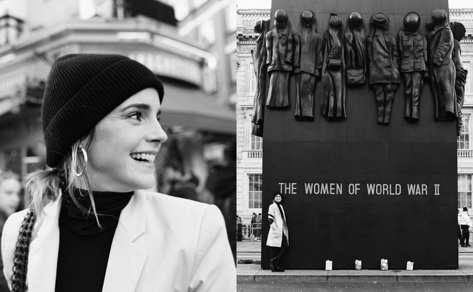 Эмма Уотсон спрятала в Лондоне несколько книг для продвижения «Маленьких женщин»